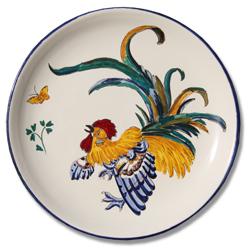 7104 Portuguese traditional majolica plate
