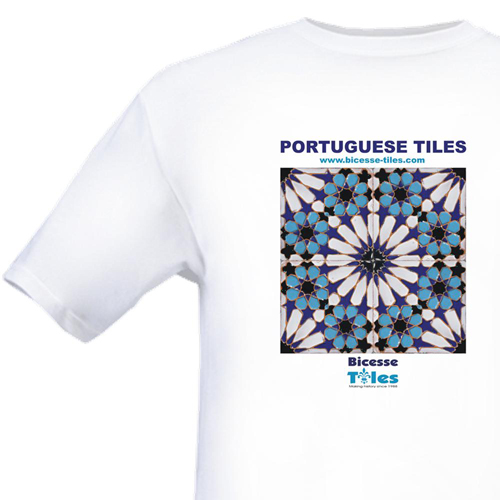 Portuguese Tiles T-Shirt - Bicesse Tiles Fever Merchandising