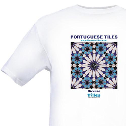 Portuguese Tiles T-Shirt - Bicesse Tiles Fever Merchandising