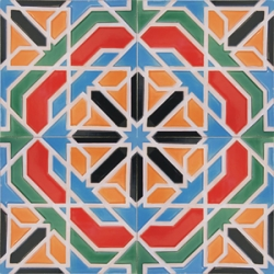 5112 Islamic giant handmade geometric ceramic tiles