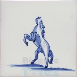 ZOO002 Blue White Zoo Animals