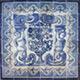 PORTUGUESE ANTIQUE TILES - XVII XVIII majolica panels murals azulejos