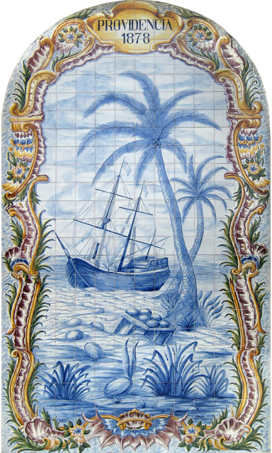 Tiles Panel - Providencia 1878, California, USA